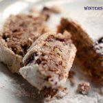 Winterstrudel, Strudel di frutta secca senza burro né zucchero