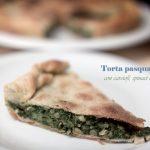 Torta pasqualina con carciofi, spinaci e piselli