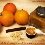 Marmellata di arance e mandorle al profumo di cannella, ricetta low sugar