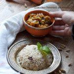 Verdure alla curcuma indian style con cupole di riso basmati integrale aromatico, ricetta detox