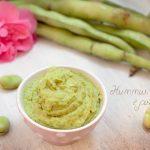 Hummus di fave e piselli