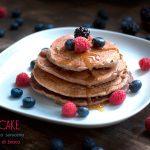 Pancake con grano saraceno e frutti di bosco #vegan #glutenfree #sugarfree