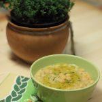 Zuppa di ceci e farro al rosmarino e timo