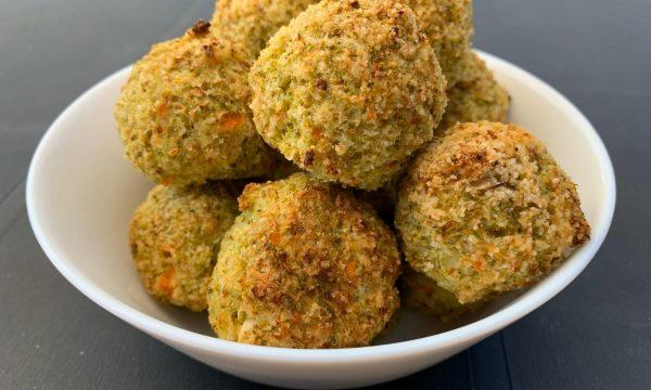 Polpette broccoli e gamberetti senza glutine