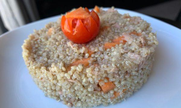 quinoa tonno carote e zenzero