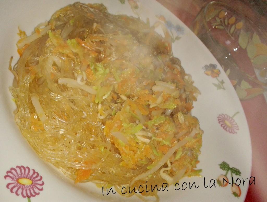 Vermicelli di soia alle verdure in cucina con la nora for Lecitina di soia in cucina