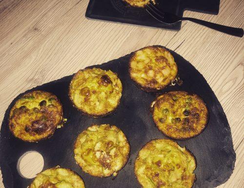 Frittatine di verdure al forno