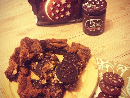 Brownies pan di stelle