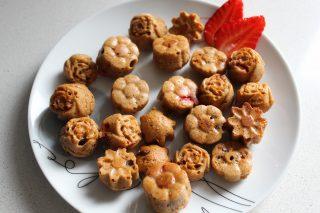 muffin nello stampo dei cioccolatini