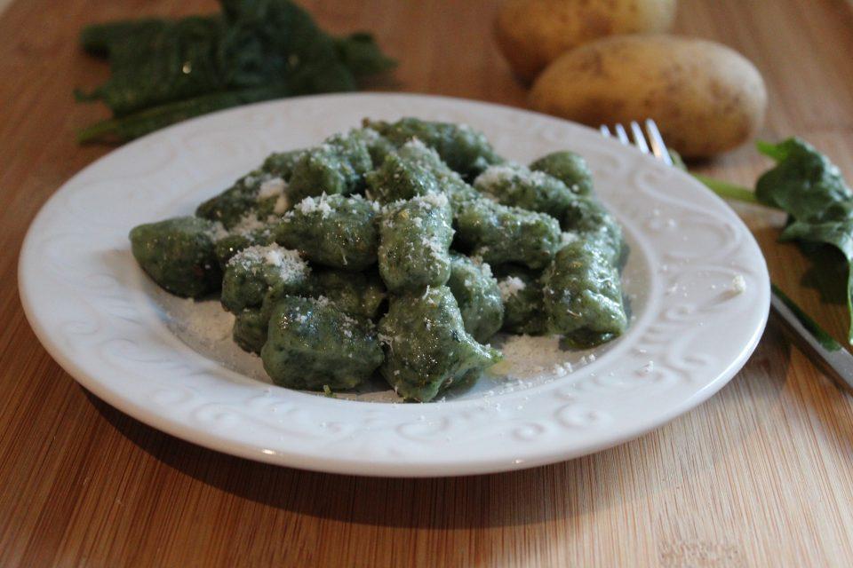 gnocchi di spinaci e patate