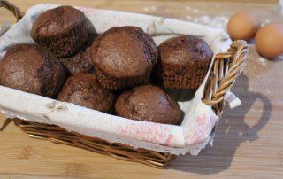 cestino di muffin
