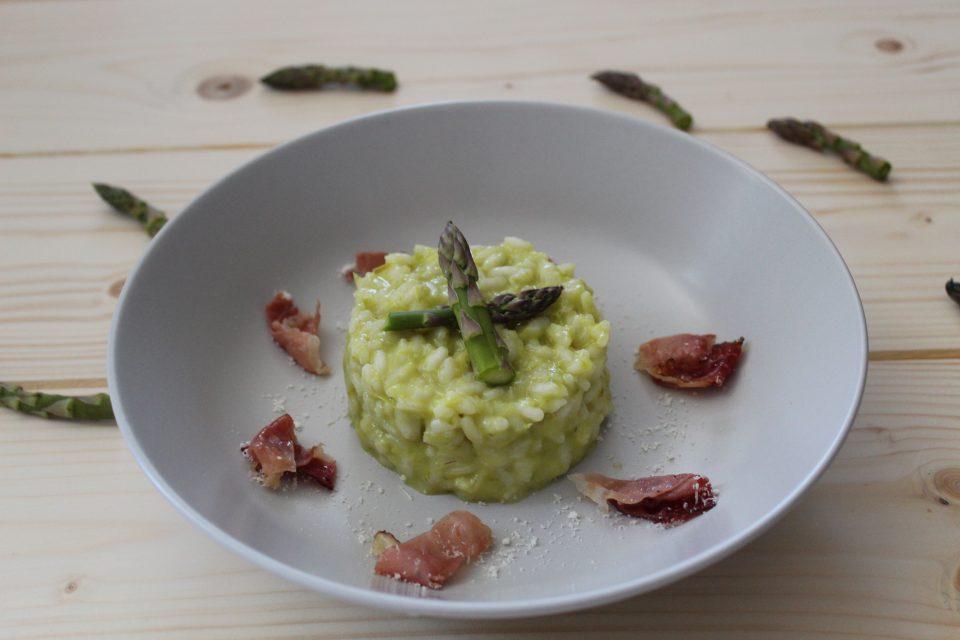 risotto alla crema di asparagi