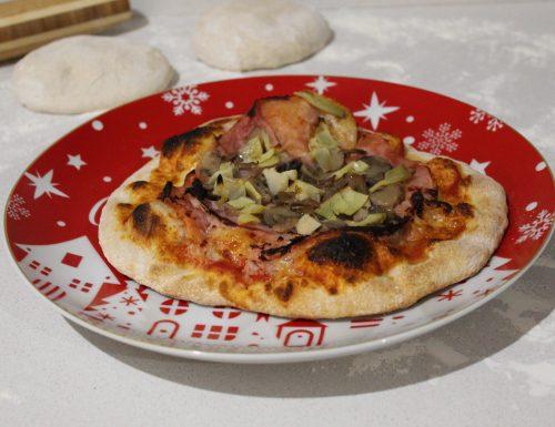 Impasto pizza con farina tipo 2 e Manitoba