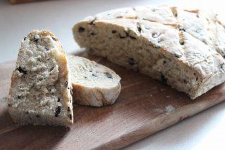 pane con le olive con farina 1