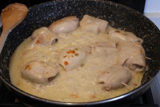 involtini di pollo con salame