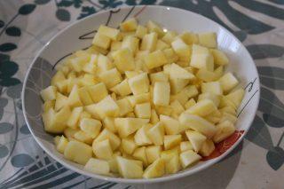 pezzetti di mela