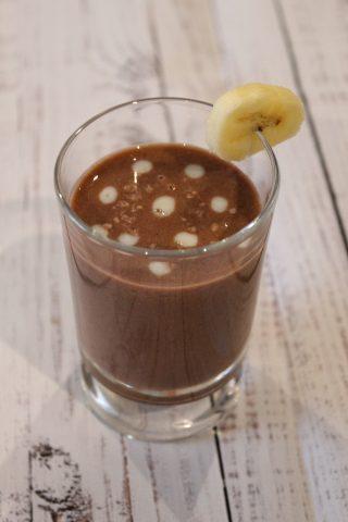 frullato banana e cacao