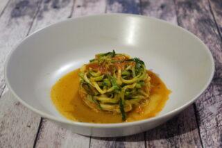 spaghetti in guazzetto di pomodoro