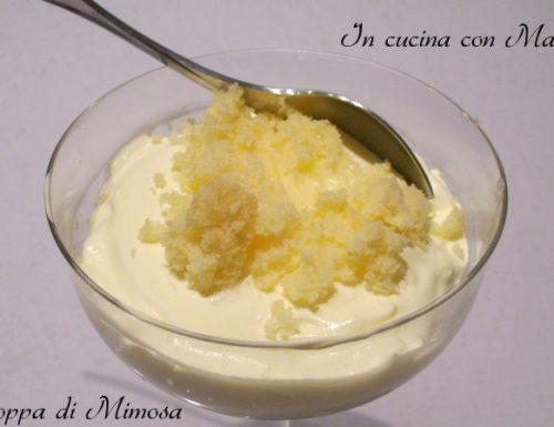 Coppa di Mimosa | dolce al cucchiaio
