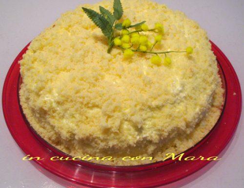 Torta Mimosa | ricetta dolce