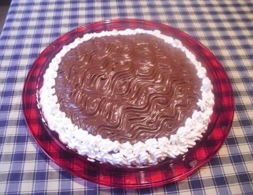 La torta nutella e mascarpone
