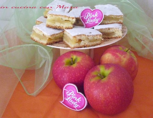 Quadrotti alle mele Pink