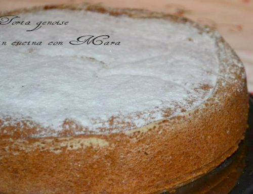Torta genoise, ricetta dolce