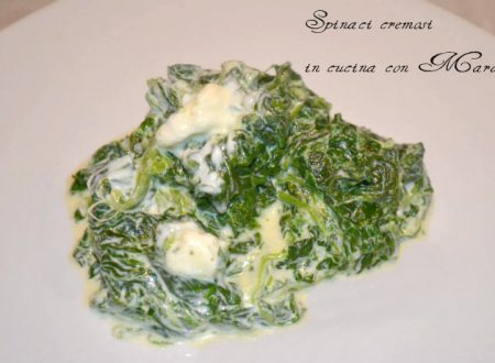 Spinaci cremosi, ricetta sfiziosa