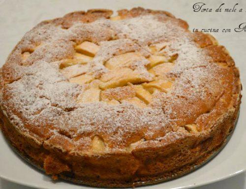 Torta di mele a raggi, ricetta dolce
