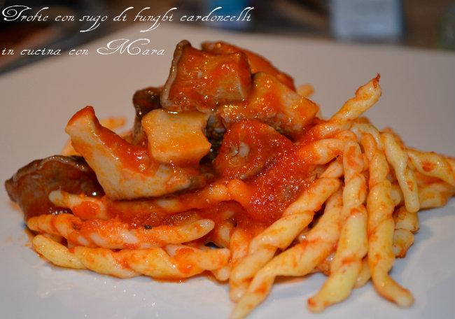 Cardoncelli ricette primi piatti