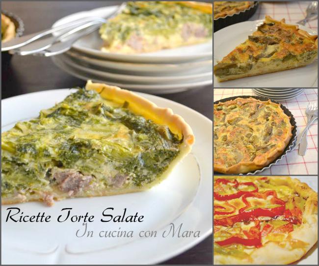 Ricette torte salate pdf scaricabile in cucina con mara for Ricette torte salate