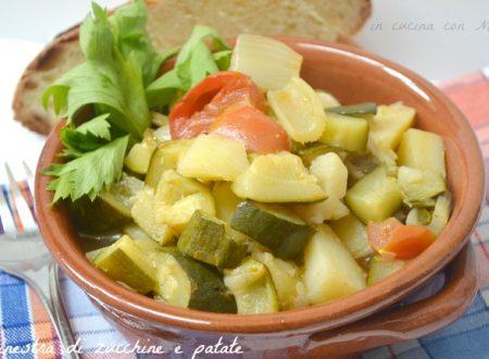 Minestra di zucchine e patate