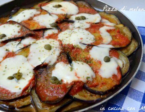 Pizza di melanzane | ricetta sfiziosa