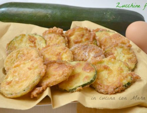 Zucchine fritte | ricetta saporita