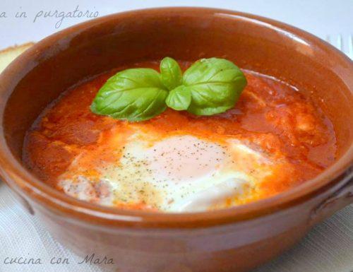 Uova in purgatorio ricetta salvacena