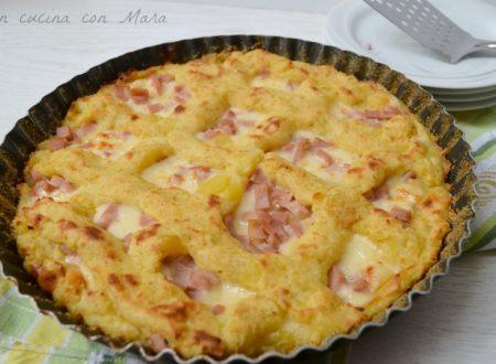 Crostata di patate ricetta ricca