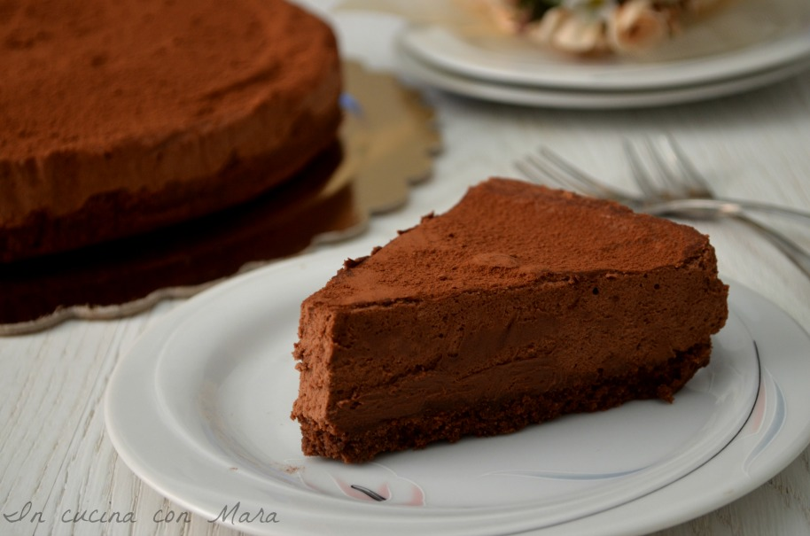Famoso Torta fredda con mousse al cioccolato | in cucina con Mara JQ16