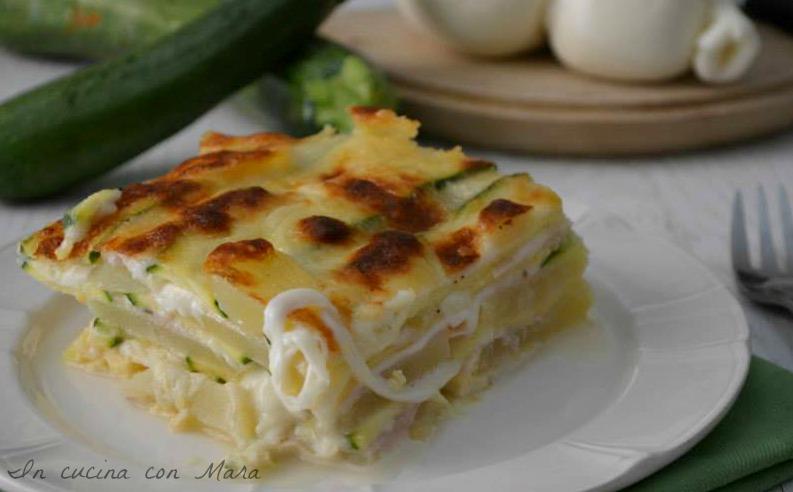 Parmigiana-bianca-di-zucchine e patate