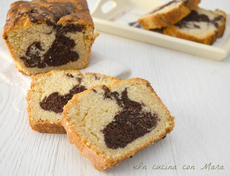 plumcake soffice panna e cioccolato