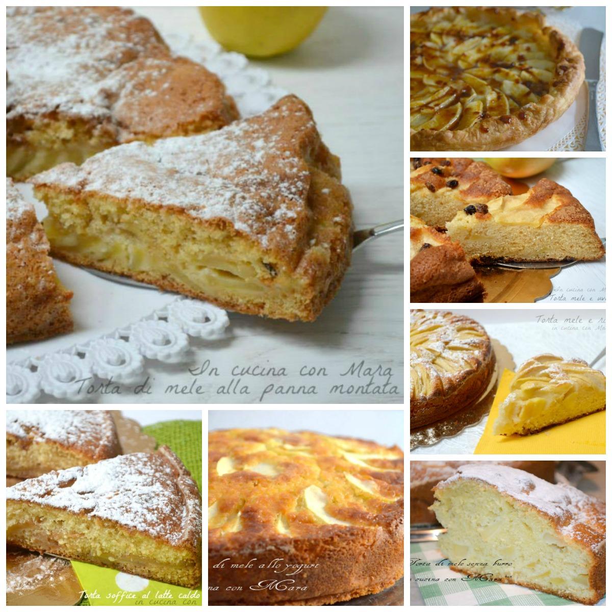 Torte di mele ricette semplici raccolta in cucina con mara for Ricette semplici cucina