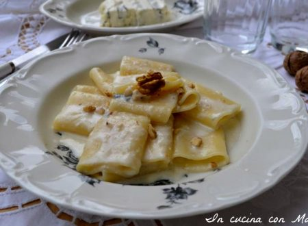 Paccheri alla crema di gorgonzola e noci