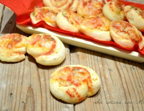 Girelle di pizza ricetta lievitati