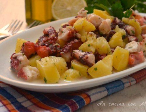 Insalata di polpo e patate ricetta secondo di pesce