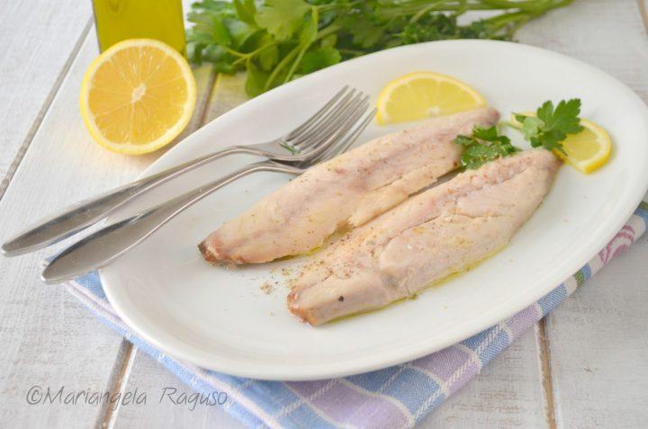 Sgombro Lesso Ricetta Secondo Piatto Di Pesce Leggero