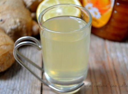 Tisana zenzero e limone