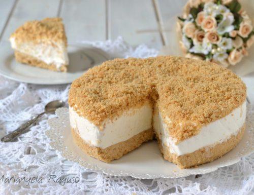 Torta gelato sbriciolata
