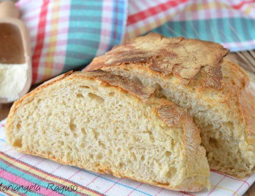 Pane cotto in pentola senza impasto
