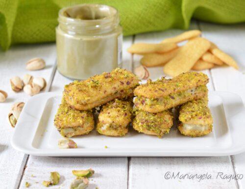 Pavesini pistacchio e mascarpone