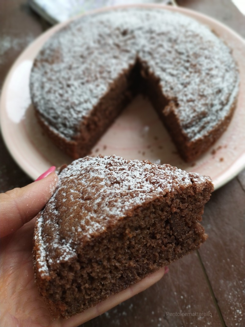 Torta furba al cucchiaio (Bimby e non)