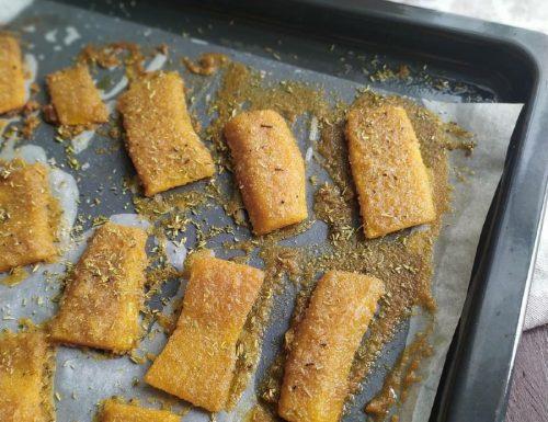 Zucca gratinata al forno ricetta light